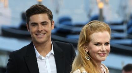 ceb81eca403e8 Zac Efron and Nicole Kidman have arrived in Cannes for their film  The  Paperboy . It looks like Zac has got rid of the moustache as we can see in  these ...