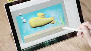 Microsoft's Paint 3D is a simple entry into rudimentary 3D modeling