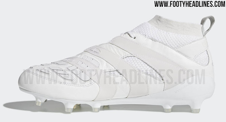 hot sale online fd0d6 fcb51 Adidas Predator Accelerator Beckham Capsule Collection - Triple White