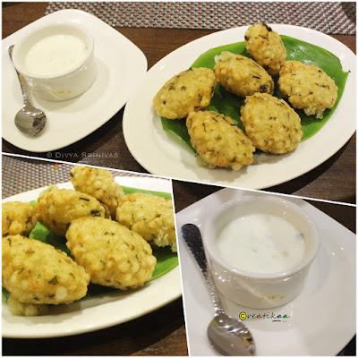 Meena Tai - Restaurant - Chennai - Maharastrian - sabudana vade