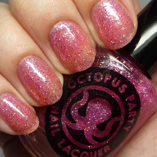 Octopus Party Nail Lacquer Pink Stole
