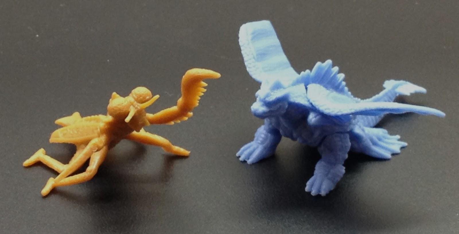 The Sphinx Bandai Monster Legend Museum 1997 Set B