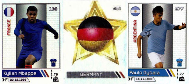Golden Shop ~ Χρυσή Συλλογή - The Golden Stars of World Football 2018 96eaf15203ce