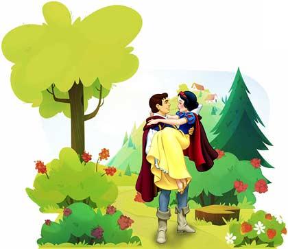 dongeng Bahasa Inggris singkat Snow White