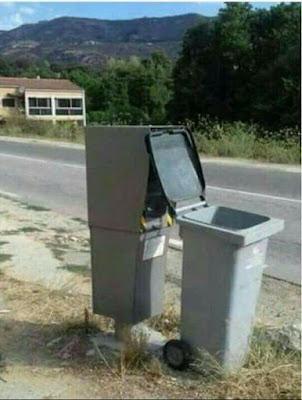 Radar fijo carretera Valderrobres dirección Fuentespalda hackeado