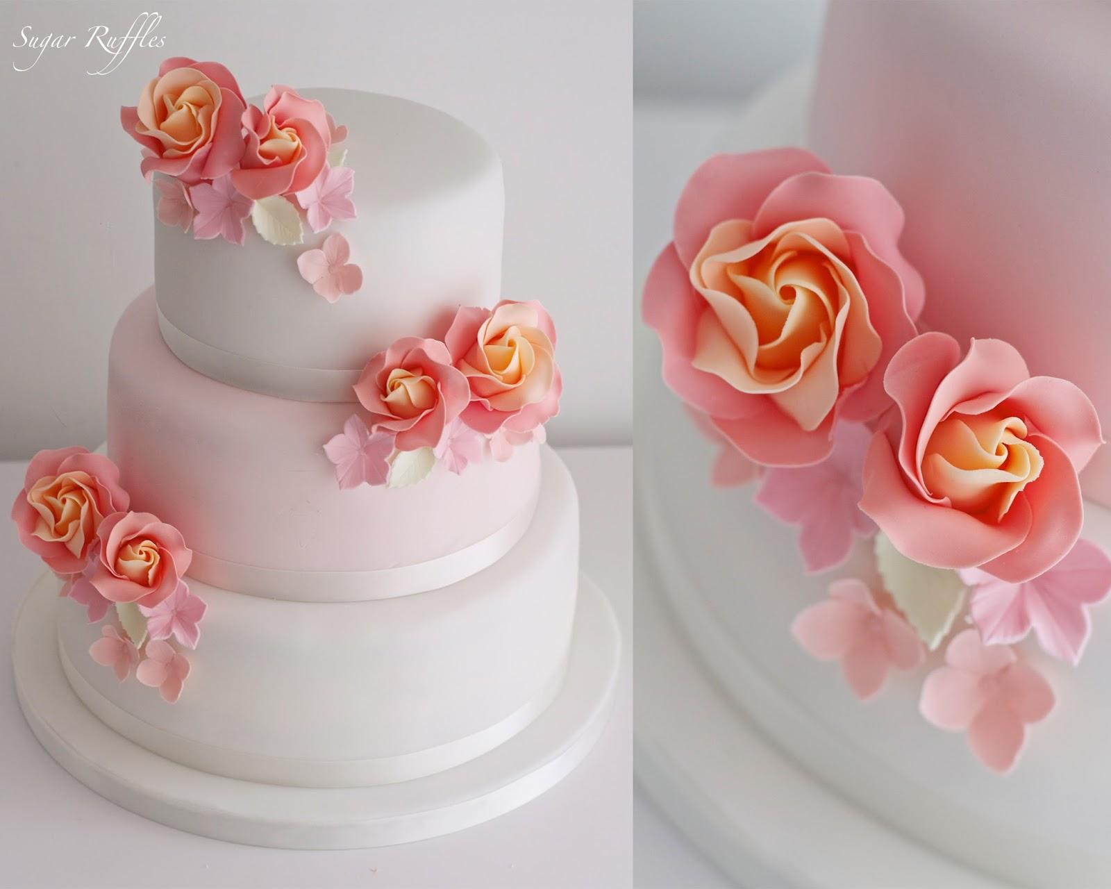 3 Tier Wedding Cakes 61 Cool A tier wedding cake