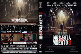 CARATULADIOS NO ESTA MUERTO 3 - God's Not Dead: A Light in Darkness 2018 [COVER DVD]
