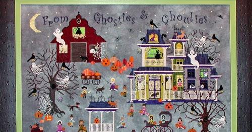 Praiseworthy Stitches New Halloween House Bump N D Knight
