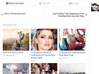Cara Jitu Menghilangkan Kotak Rekomendasi / Sponsored Links Disqus