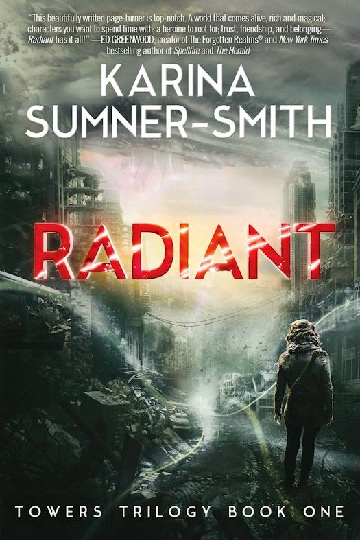 Interview with Karina Sumner-Smith, author of Radiant - October 7, 2014