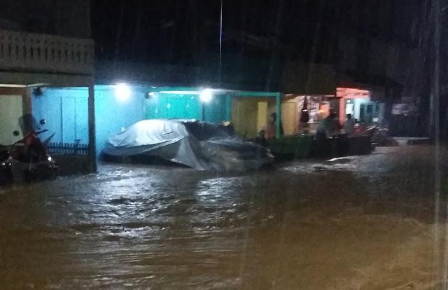 Hujan Deras, Aceh Barat Daya Banjir