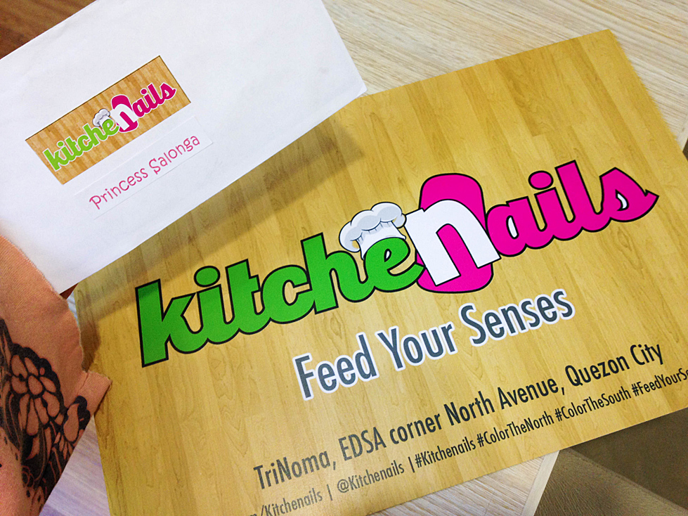 Kitchenails trinoma the kitchenails experience phantasm got invited at the opening of a new nail salon at trinoma kitchenails i was very excited to visit their first branch at the north since their other branch stopboris Gallery