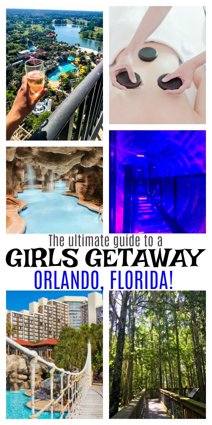 The ultimate guide to a girls getaway to Orlando, Florida. Learn about the best resort, air boat tour, comedy club, dinner locations and more!