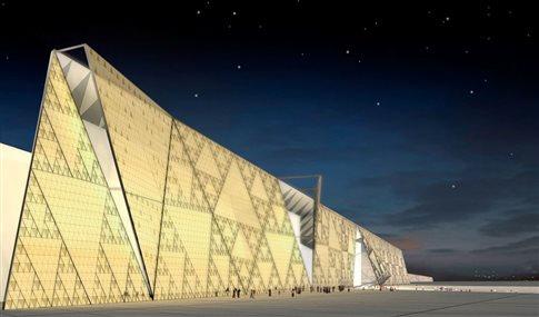 Ένα μουσείο για τους φαραώ δίπλα στις πυραμίδες