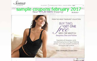 free Soma Intimates coupons february 2017