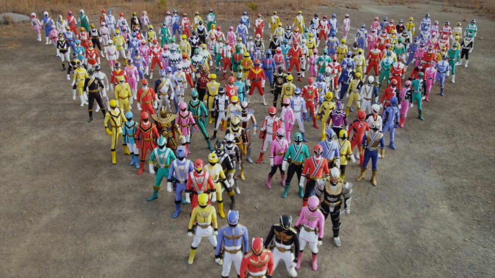 Power Rangers Super Sentai