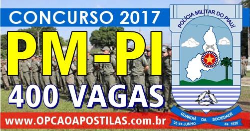 Apostilas Concurso PM PI 2017