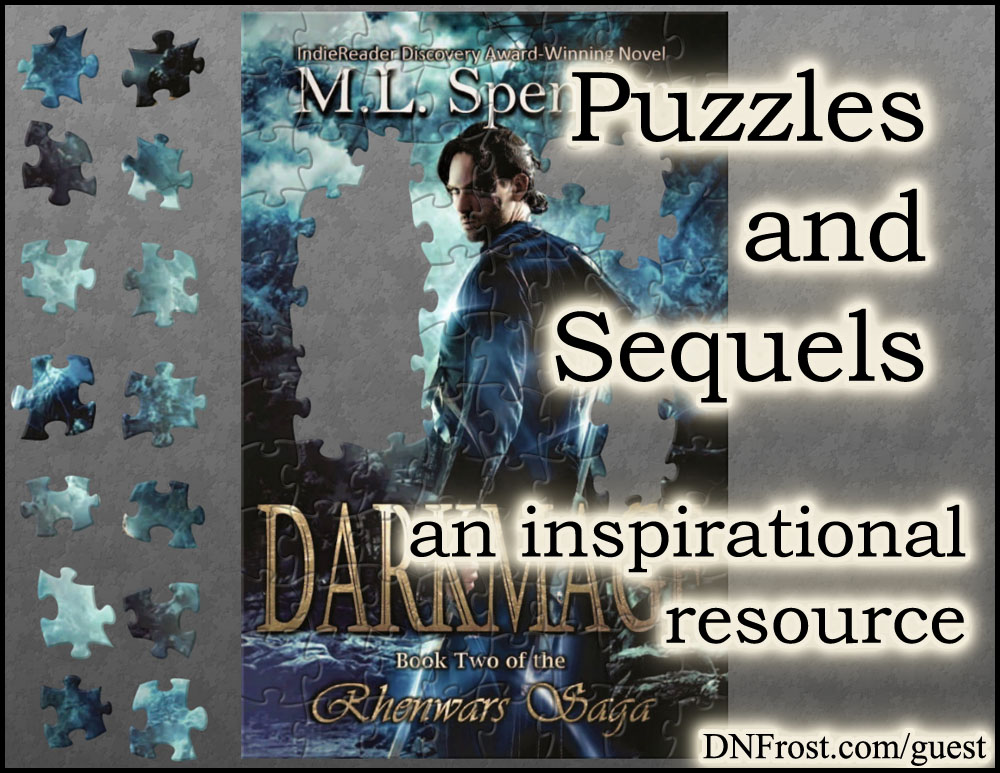 Puzzles and Sequels: fun inspirations from the novel Darkmage http://www.dnfrost.com/2017/03/puzzles-and-sequels-inspirational.html An inspirational resource by D.N.Frost @DNFrost13 Part 3 of a series.