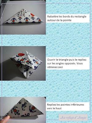 tutoriel bateau papier en origami