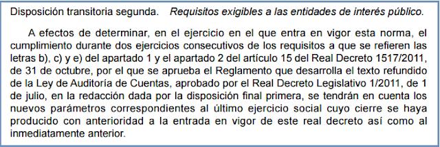 Real Decreto 877/2015, de 2 de octubre, Disposición Transitoria 2ª