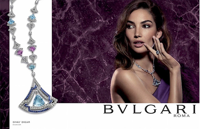 Fantasy fashion design lily aldridge es la estrella de la campa a de joyas bulgari 39 divas 39 dream - Diva nails roma ...