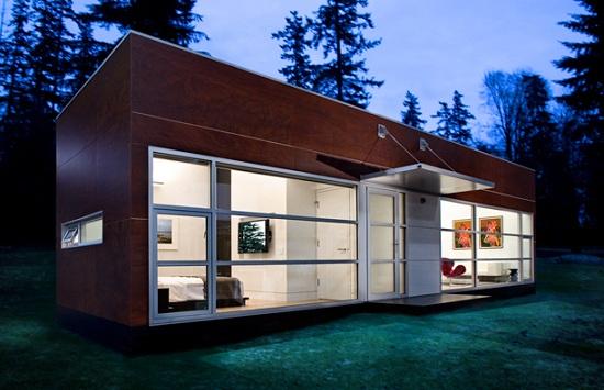 Construalia moderna casa prefabricada - La casa prefabricada ...