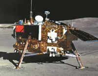 On Moon's Far Side, China's Rover Studies Stones
