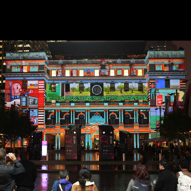 vivid sydney festival 2012 customs house