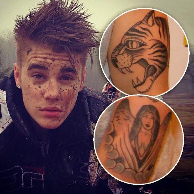 Image Selena Gomez Tatouage Justin Bieber Au Bras People Buzz