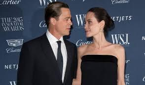 hollywood's popular couple, Brad Pitt and Angelina Jolie