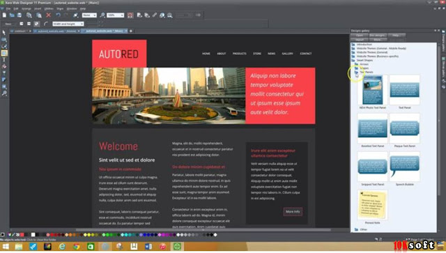 Xara Web Designer Premium x365 latest version Free Download