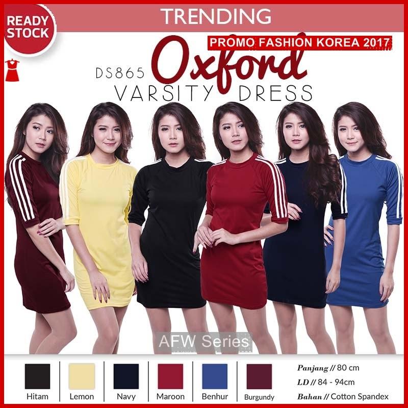 BAMFGW119 Oxford Dress Kaos Wanita PROMO BMG