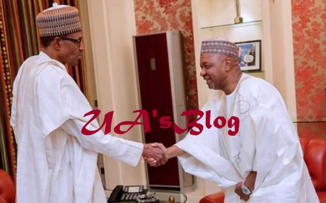 What Ex-Vice President Namadi Sambo Did After Meeting President Buhari In Aso Rock