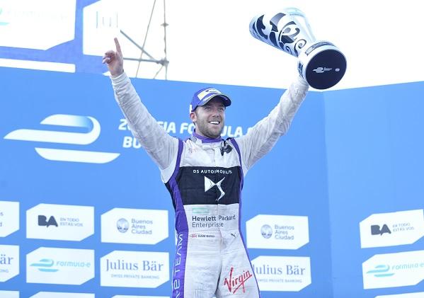 Fórmula E Sam Bird se quedó con el ePrix de Buenos Aires