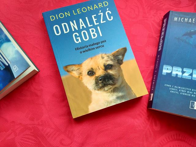 """Zagubiony człowiek i przyjaciel w postaci psa, czyli recenzja powieści pt.""""Odnaleźć Gobi"""" Diona Leonarda"""