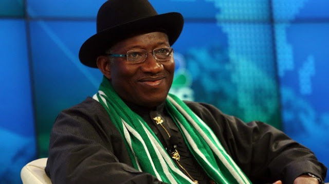 Jonathan accepts Personality of the Year award, says 'Nigerians deserve it more than I do'