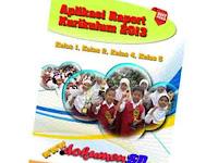 Aplikasi Raport Kurikulum 2013 Kelas 1, Kelas 2, Kelas 4, Kelas 5 Gratis
