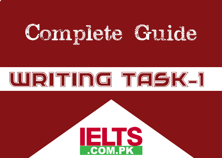 IELTS Writing Tast 1 Complete Guide