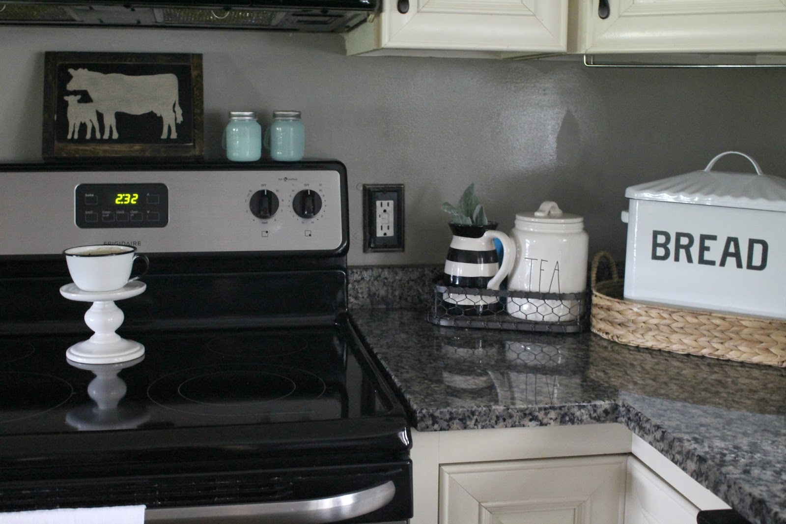 Kitchen Outlet Covers Beauteous 3 Big Impact Kitchen Updates For Less Then $50  The Glam Farmhouse Inspiration Design