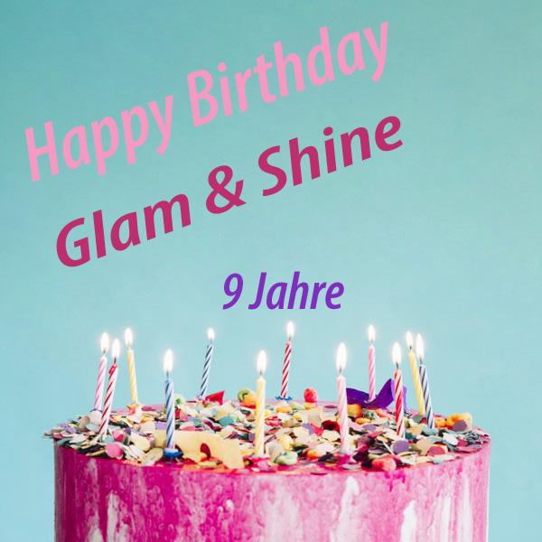 Glam Shine Beautyblog Vorankundigung 9 Jahre Glam Shine