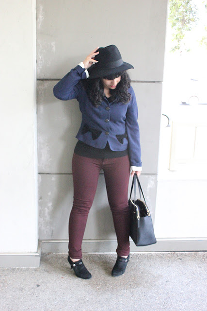 Marc Jacobs Navy Coat Burgundy Pants Poshmark Suggessted User willbakeforshoe