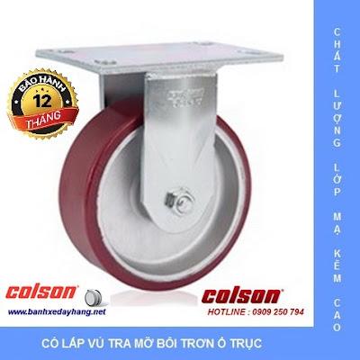 Giá bánh xe kéo hàng chịu lực Colson Caster Mỹ www.banhxeday.xyz