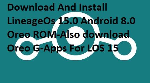 LineageOs Samsung Galaxy J5