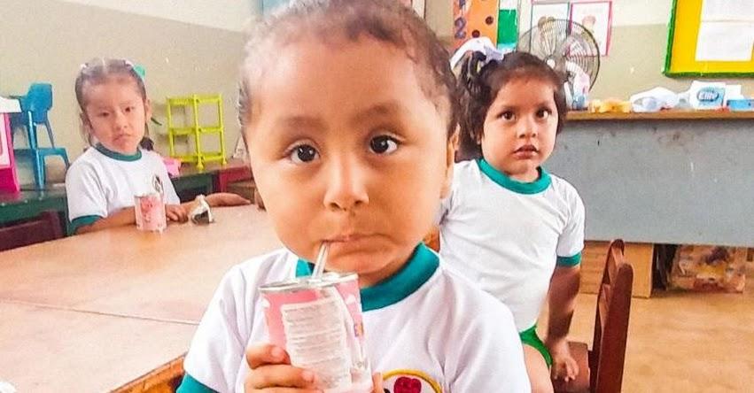 Qali Warma verifica óptimo estado de alimentos para escolares del distrito de Mala en Cañete - www.qaliwarma.gob.pe