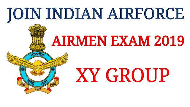Airforce Airmen XY Group Exam 2019