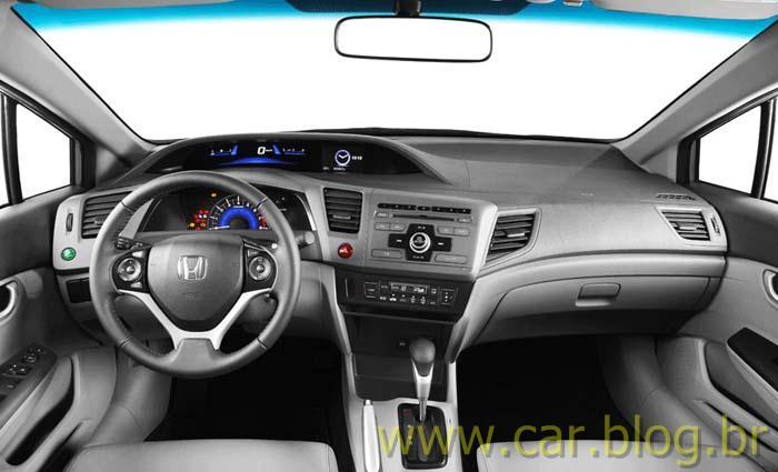 Novo Honda Civic 2012   Painel De Instrumentos