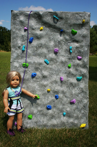 Arts And Crafts American Girl Doll Rock Climbing Wall
