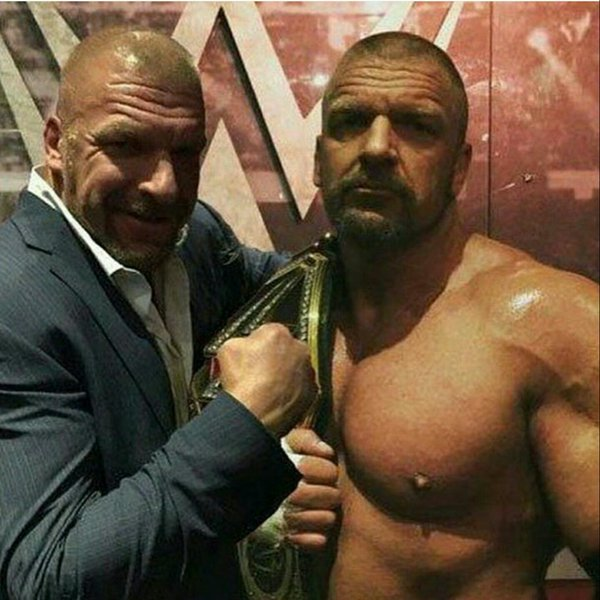 Triple H guy is Triple H