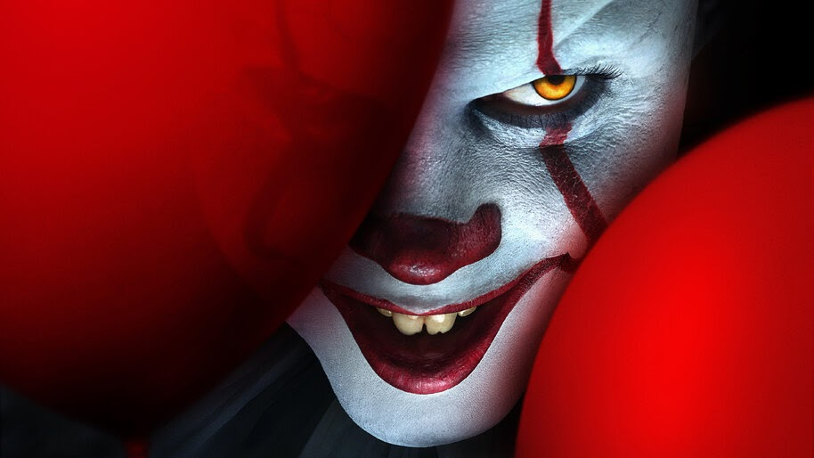 It Chapter 2 Red Balloon Pennywise The Clown 8k 3