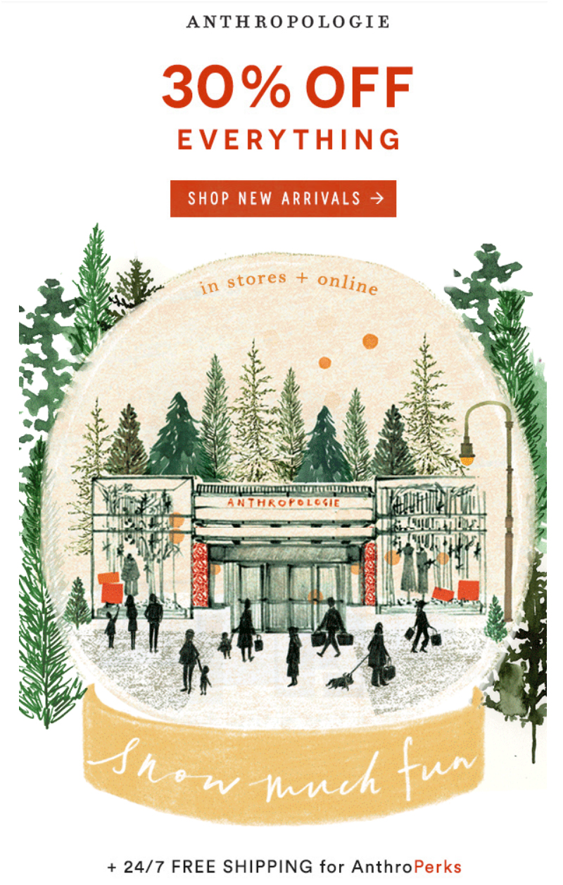The Anthropologie Black Friday 2018 promo and other Black Friday deals around the webby world :: Effortlessly with Roxy